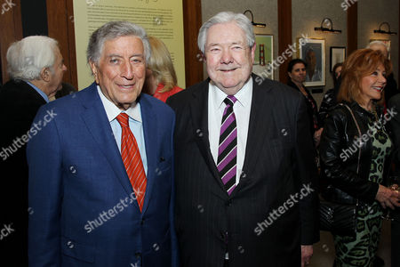 Tony Bennett, Frank A Bennack Jr. (Chairman The Paley Center for Media)
