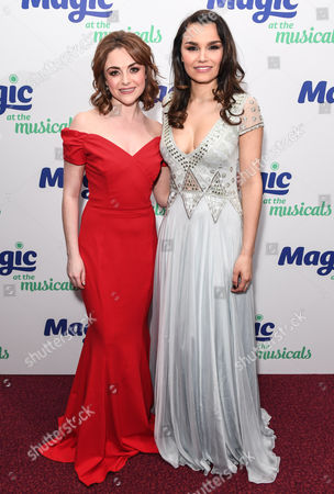 Editorial photo of Magic at the Musicals, arrivals, London, UK - 04 May 2017
