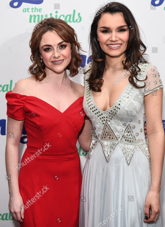Stock Picture of Cassie Compton and Samantha Barks