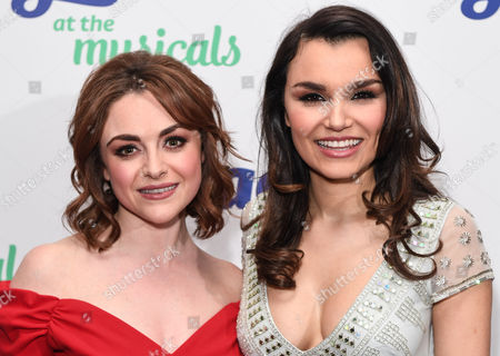 Stock Image of Cassie Compton and Samantha Barks