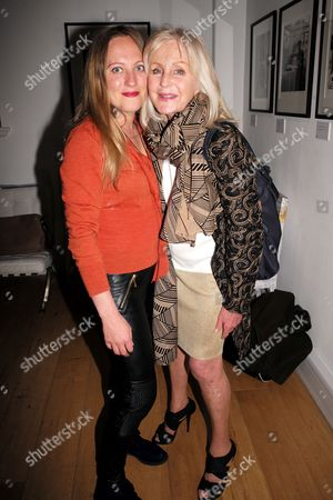 Editorial photo of 'Koo Stark: Kintsugi' private view, Leica Gallery Mayfair, London, UK - 04 May 2017