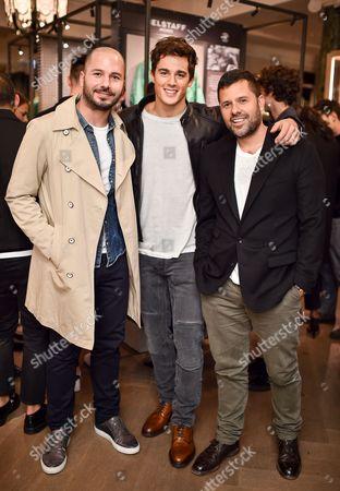 Junietsy De Marcos, Pietro Boselli and Mariano Vivanco
