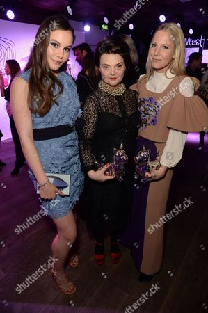 Holly Ramsey and Lulu Guinness and Alice Naylor-Leyland