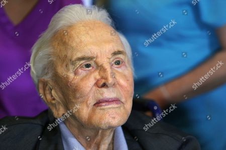 Kirk Douglas, Anne Douglas Kirk Douglas looks, in Los Angeles during a party celebrating his 100th birthday. Kirk and his wife Anne was also celebrating their upcoming 63rd wedding anniversary and the 25th anniversary of Anne's 1992 gift that funded the Anne Douglas Center for homeless women