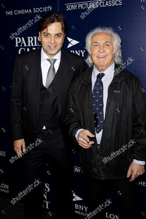 Stock Picture of Tony Shafrazi with Guest