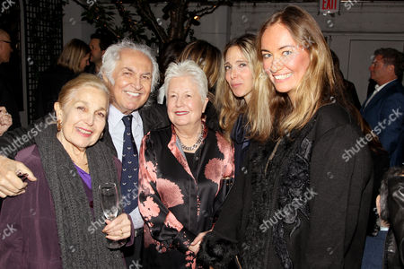 Tony Shafrazi and Eleanor Coppola (Director) with Guest