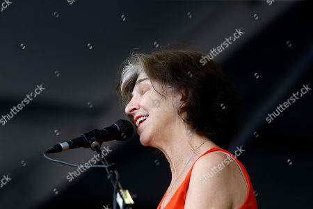 Marcia Ball performs at the New Orleans Jazz and Heritage Festival in New Orleans
