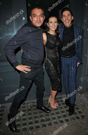 Adil Ray, Lindsey Cole and Russell Kane