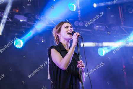 Stock Picture of The Cardigans - Nina Persson