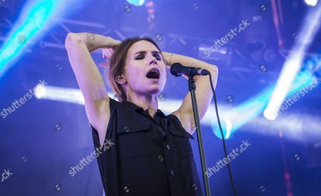 Editorial photo of The Cardigans in concert at the Tivoli, Stockholm, Sweden - 04 May 2017