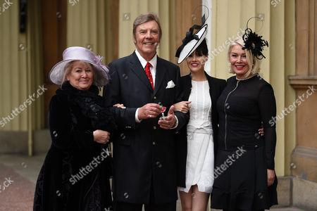 Marty Wilde, Kim Wilde, Roxanne Wilde and Joyce Smith