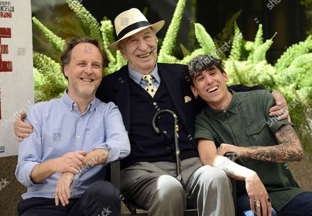 Giuliano Montaldo, Francesco Bruni and Andrea Carpenzano