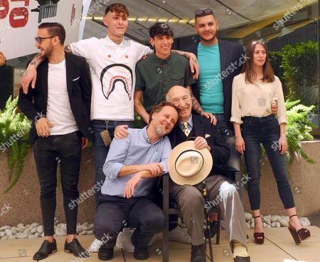 Emanuele Propizio and Arturo Bruni, Francesco Bruni , Andrea Carpenzano , Giuliano Montaldo, Riccardo Vitiello and Carolina Pavone
