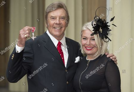 Singer Marty Wilde MBE and daughter Kim Wilde.