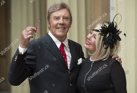 Singer Marty Wilde MBE and daughter Kim Wilde