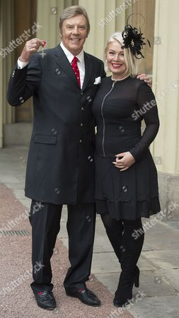 Singer Marty Wilde MBE and daughter Kim Wilde Wilde