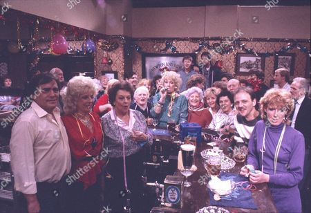 """Editorial picture of """"Coronation Street"""" TV series - 1986"""