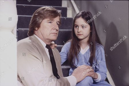 William Roache (as Ken Barlow) and Holly Chamarette (as Tracy Barlow)