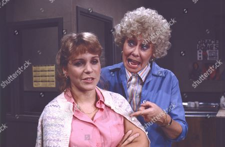 Wendy Jane Walker (as Susan Barlow) and Elizabeth Dawn (as Vera Duckworth)