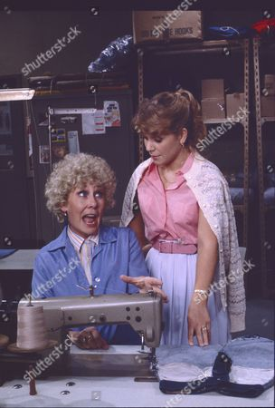 Elizabeth Dawn (as Vera Duckworth) and Wendy Jane Walker (as Susan Barlow)