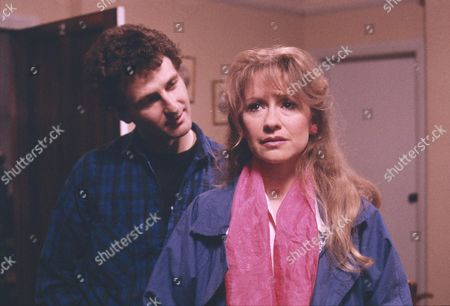 Ray Ashcroft (as Steve Holt) and Sue Jenkins (as Gloria Todd)