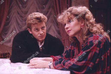 Michael Thomas (as Richard Armstrong) and Sue Jenkins (as Gloria Todd)