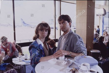 Helen Worth (as Gail Tilsley) and Michael Loney (Ian Latimer)