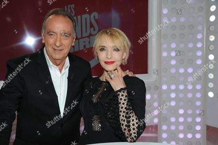 Yves Lecoq and Jeanne Mas