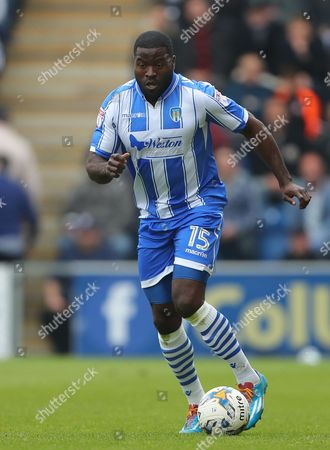 George Elokobi of Colchester United - Colchester United v Yeovil Town, Sky Bet League Two, Weston Homes Community Stadium, Colchester - 6th May 2017.