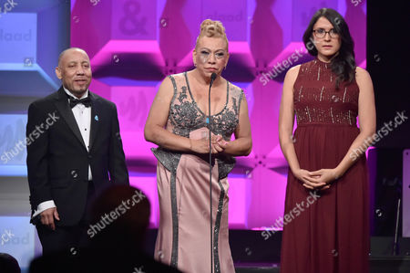 Editorial image of GLAAD Media Awards, Inside, New York, USA - 06 May 2017