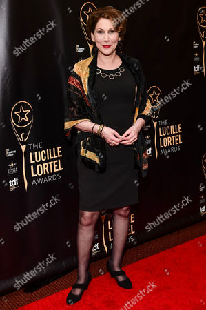 Editorial photo of 32nd Annual Lucille Lortel Awards, Arrivals, New York, USA - 07 May 2017
