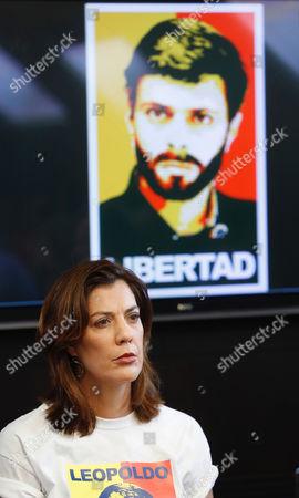 Editorial image of Relatives of jailed Venezuelan dissident seek international action, Madrid, Spain - 05 May 2017