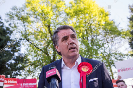 Newly elected Metro Mayor of Liverpool Steve Rotheram speaks, at Devonshire House Hotel
