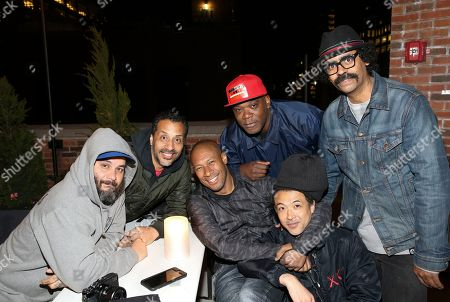 Professional skateboarders Erick Colon, Alex Corporan, Rodney Smith and Dave Ortiz at the G-SHOCK and Stash Collaboration after party at the Arlo Hotel on in New York. The G-SHOCK and Stash Collaboration is a limited edition watch that will go on sale May 6