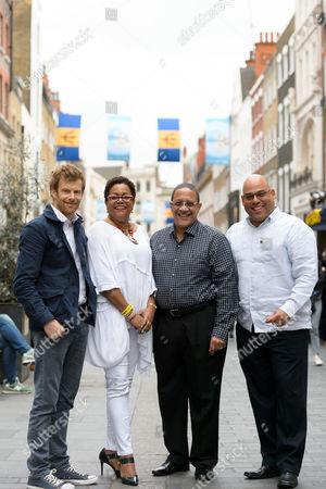 Tom Aikens, UK Director BTMI Cheryl Carter, CEO BTMI Billy Griffiths and Guy Hewitt