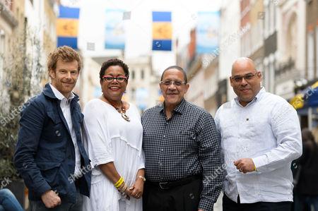 Stock Image of Tom Aikens, UK Director BTMI Cheryl Carter, CEO BTMI Billy Griffiths and Guy Hewitt