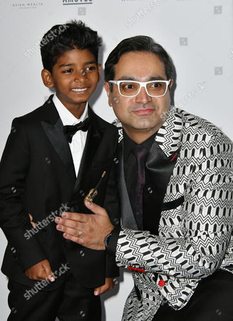 Stock Picture of Sunny Pawar, Paul Sagoo
