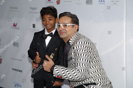 Stock Photo of Sunny Pawar and Paul Sagoo