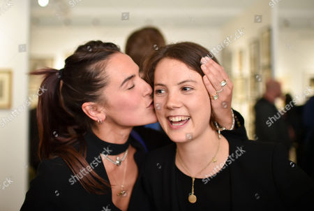 Stock Photo of Emma Shenkman and Alice St. Clair-Erskine