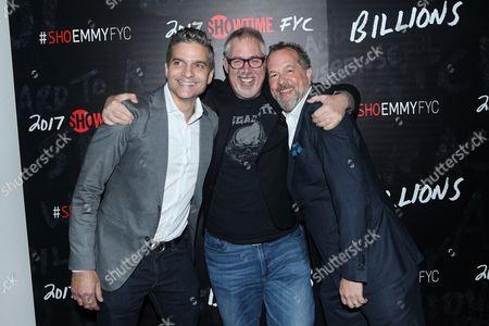 David Levin, Brian Koppelman and David Costabile