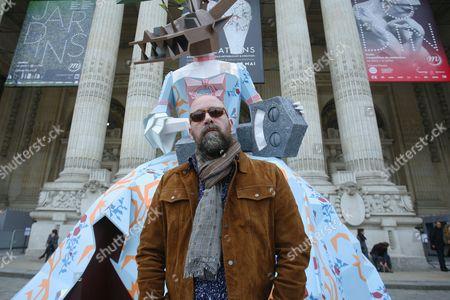 Christian Vallee, aka Kriki, artist