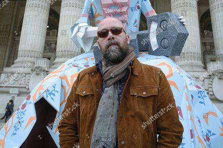 Stock Photo of Christian Vallee, aka Kriki, artist