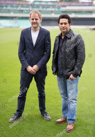 Sachin Tendulkar and James Erskine