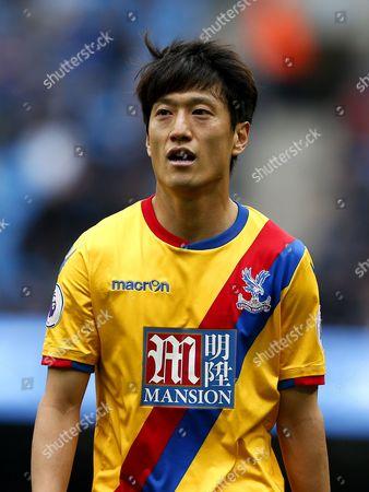 Chung-Yong Lee of Crystal Palace
