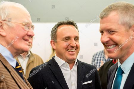 Sir Menzies Campbell, Alex Cole Hamilton and Willie Rennie
