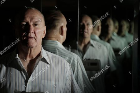 """Former boxer Chuck Wepner poses for a photograph for The Associated Press in his home in Bayonne, N.J., . Wepner, the Bayonne Bleeder, went toe-to-toe with Muhammad Ali in a fight that inspired Sylvester Stallone to write """"Rocky."""" Stallone later settled a lawsuit Wepner filed against him. Forty years later, Wepner's real-life story is coming to the big screen and this time he's getting all the credit"""
