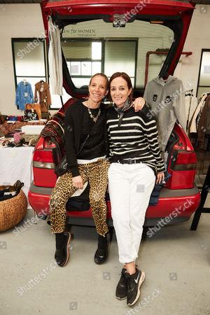 Tiphaine Chapman and Daniela Agnelli