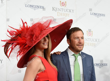 Bode Miller, Morgan Beck Champion skier Bode Miller, right, and his wife Morgan Beck walk the Kentucky Derby red carpet, at Churchill Downs in Louisville, Ky. Longines, the Swiss watch manufacturer known for its luxury timepieces, is the Official Watch and Timekeeper of the 143rd annual Kentucky Derby