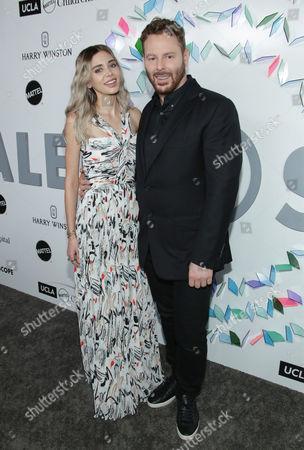 Sean Parker and wife Alexandra Lenas