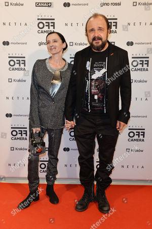 Stock Photo of Arkadiusz Jakubik and Agnieszka Matysiak